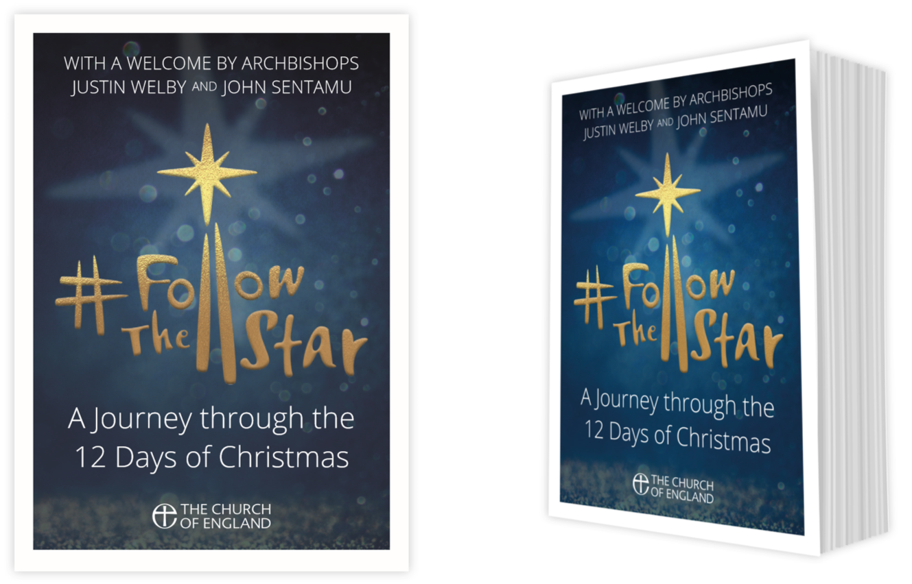 A mock up of the #FollowTheStar Christmas 2018 booklet