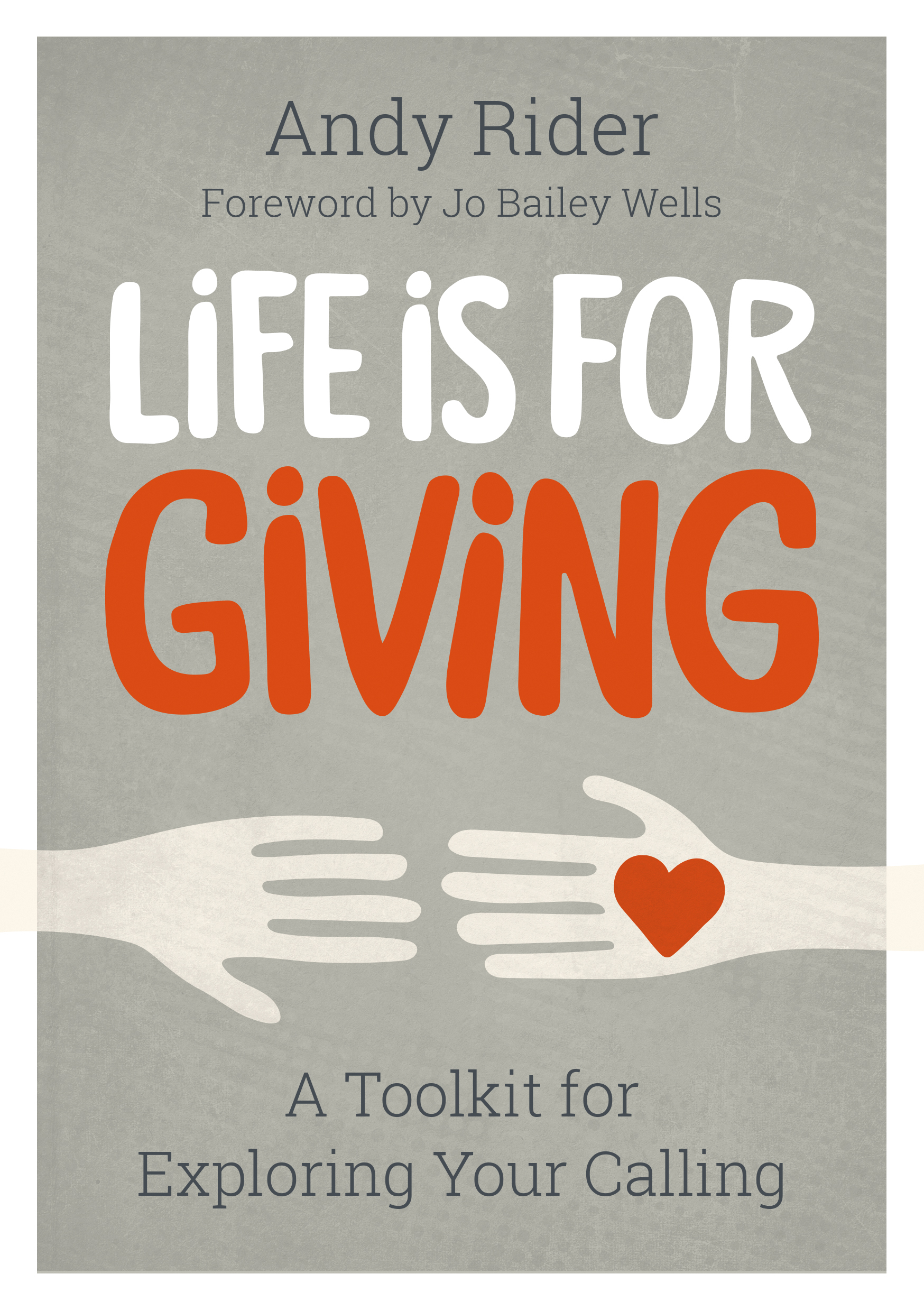 Book cover - Life is for Giving