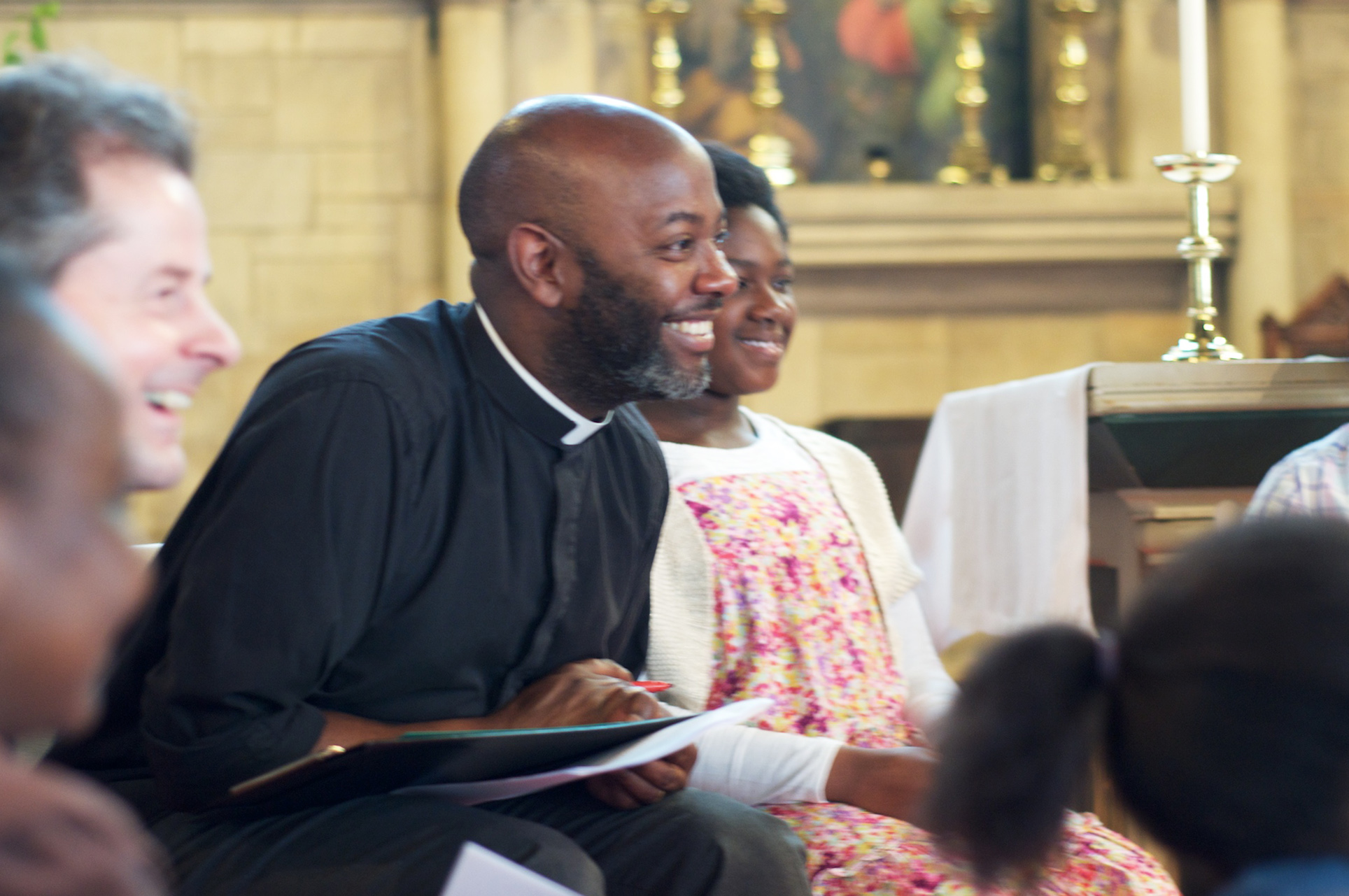 Black vicar in an Anglo Catholic parish