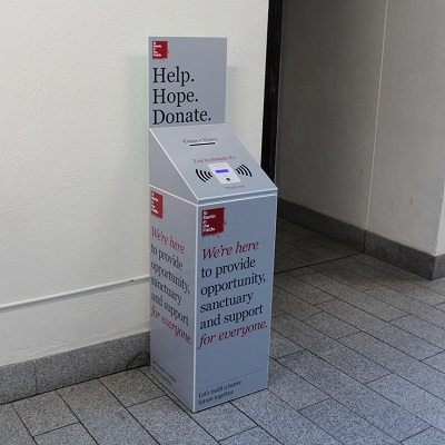 A Donation Point in St Martin-in-the-Fields
