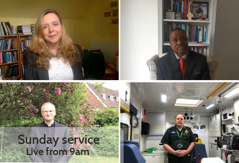 Contributors to our weekly online service.
