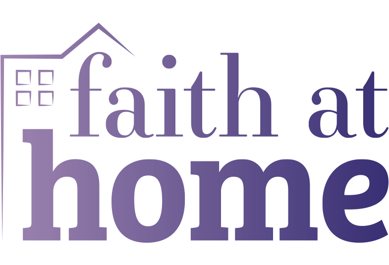 The Faith at home logo.