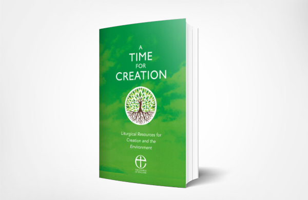 A Time for Creation book mockup