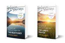 The two Pilgrim Journey books for Lent and Easter 2019