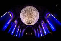 Museum of the Moon at University of Bristol. Picture credit: Simon Galloway, Picture Editor, SWNS