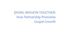Doing Mission Together cover page