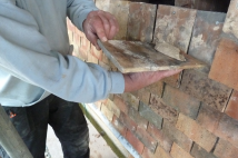 Tiles are replaced at steeple morton church
