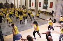 Zumba  Class at Blackburn Cathedral