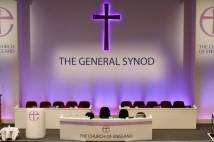 The stage at General Synod in York.