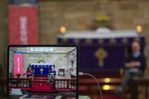 Streaming from a local church