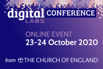 Digital Labs conference website thumbnail