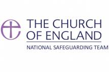 The Church of England logo with National Safeguarding Team written underneath.