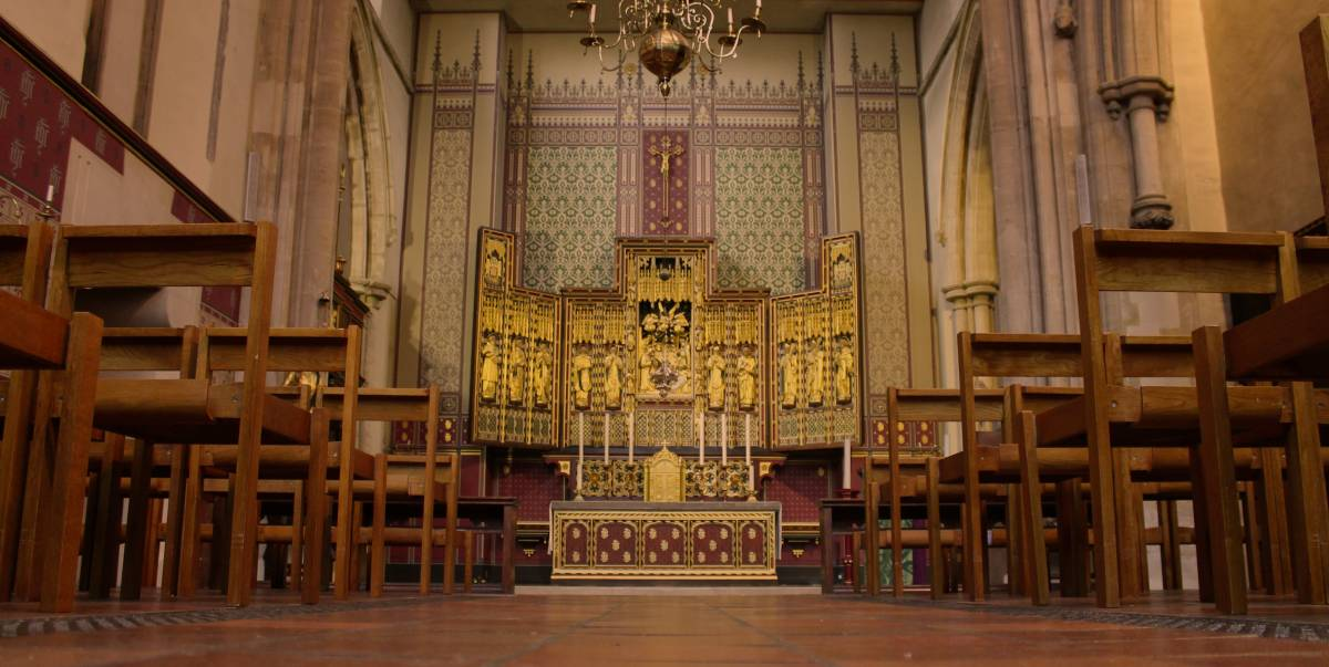 Interior of St Matthew's Westminster