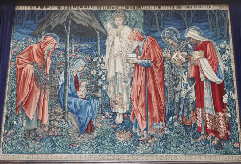 Tapestry at St Andrew's Church, Roker