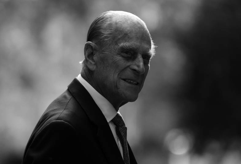 His Royal Highness Prince Philip.