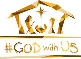 #GodWithUs logo