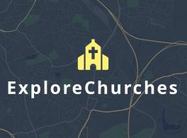 Explore churches graphic logo