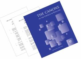 Canons of the Church of England