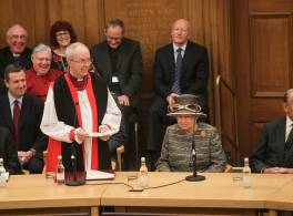 Archbishop Justin and HM The Queen at General Synod