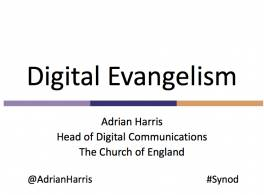 General Synod digital presentation screenshot