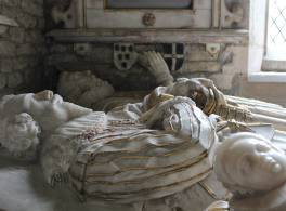 Savage memorial inside St Mary's church, Elmley Castle